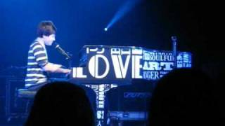 Greyson Chance performing Broken Hearts at Edmond Santa Fe High School 2-19-11