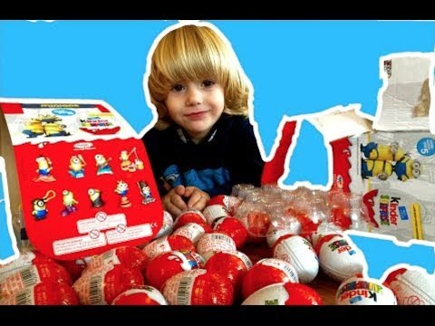 Gertit Toys Review Unboxing Surprise Eggs And Surprising With Iron Man Mask and More Minions Toy