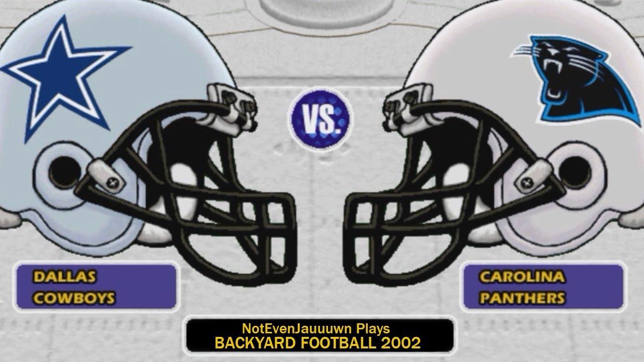 game 6 of backyard football 2002 dallas cowboys vs carolina