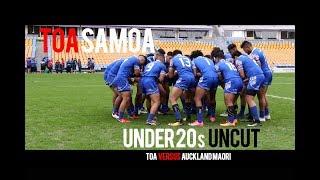 TOA Samoa Siva Tau vs Auckland Maori Haka Video