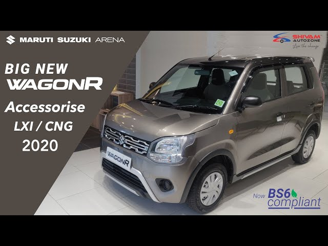 WagonR LXI CNG 2020 Accessories worth Rs. 44370/-   Shivam Autozone