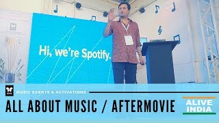 IRIS ALIVE Music activations - All About Music preview | Bangalore | Alive India