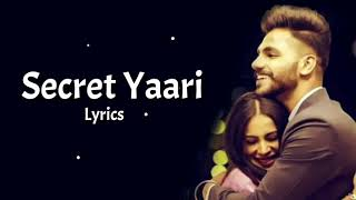 Gambar cover Secret Yaari Song (Lyrics) :- Sara Gurpal