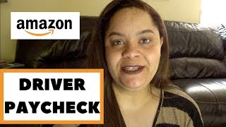 How Much Amazon Delivery Drivers Make?! A Real Paycheck! DC Metro Area