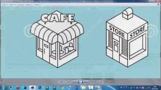 Моделируем CAFE в Cinema 4D (Урок 2).