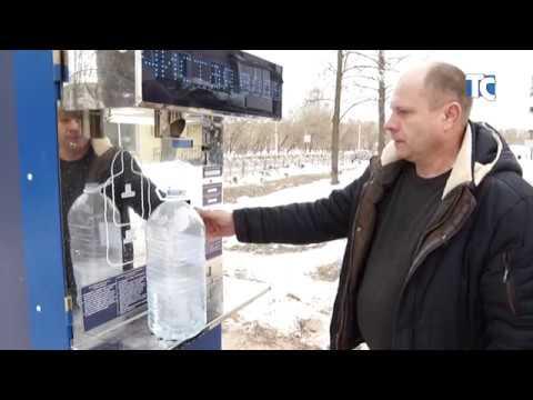 Начал работу автомат по розливу артезианской воды