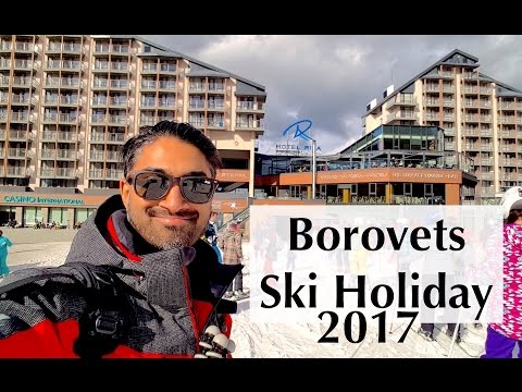 Borovets Skiing Trip 2017 VLOG - PART 1