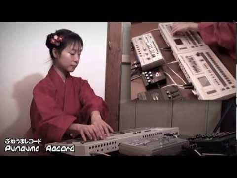 Japanese Techno Girl  Love  TR-727 & TR-707 & TB-303