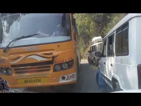 Guwahati Silchar hilly Road