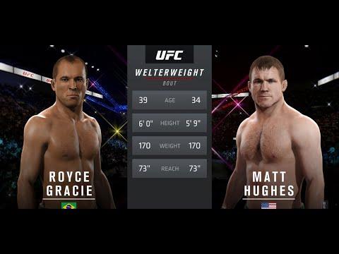 EA UFC 2 Beta Royce Gracie vs Matt Hughes - Top Online Players