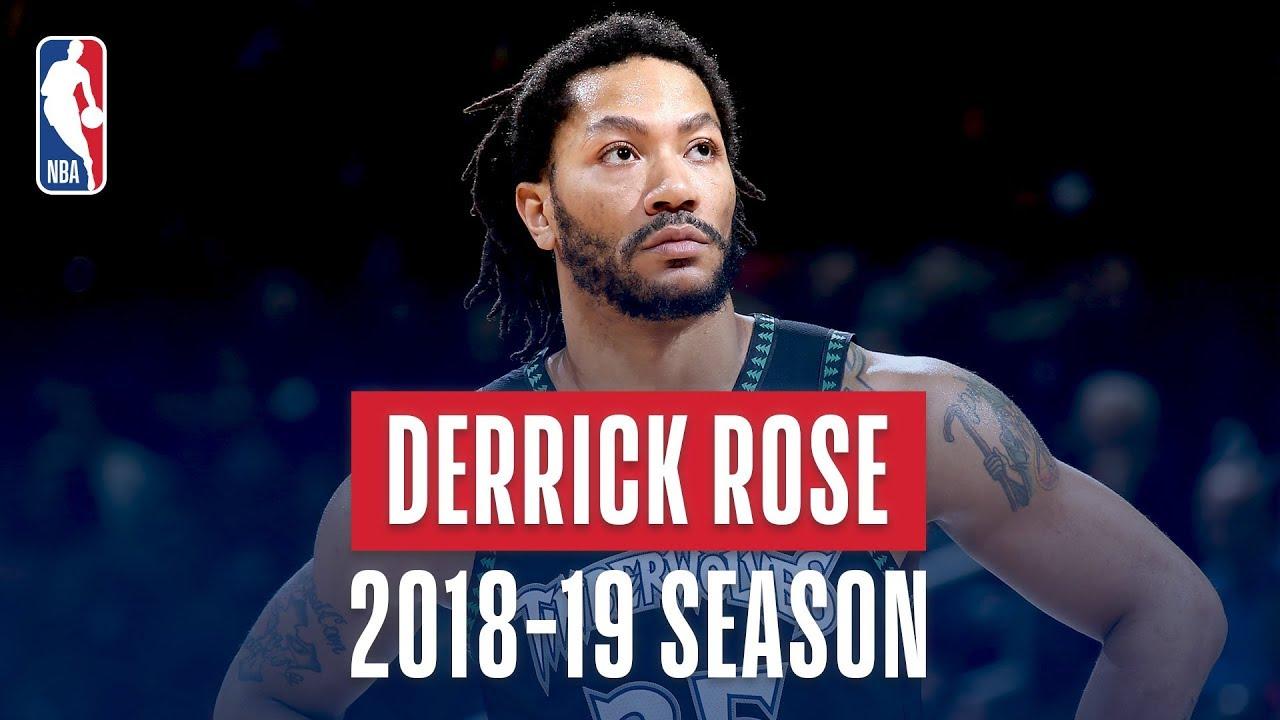 Derrick Rose's Best Plays From the 2018-19 NBA Regular Season
