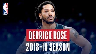 [11.10 MB] Derrick Rose's Best Plays From the 2018-19 NBA Regular Season