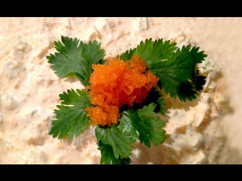 How to cut tobiko flying fish doovi for Flying fish egg