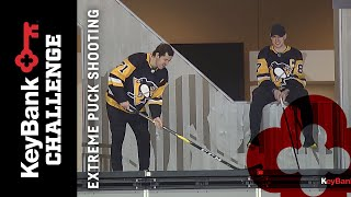 Sidney Crosby vs. Evgeni Malkin: Extreme Puck Shooting | Pittsburgh Penguins