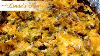 ~low Carb Chorizo Cauliflower Casserole With Linda's Pantry~