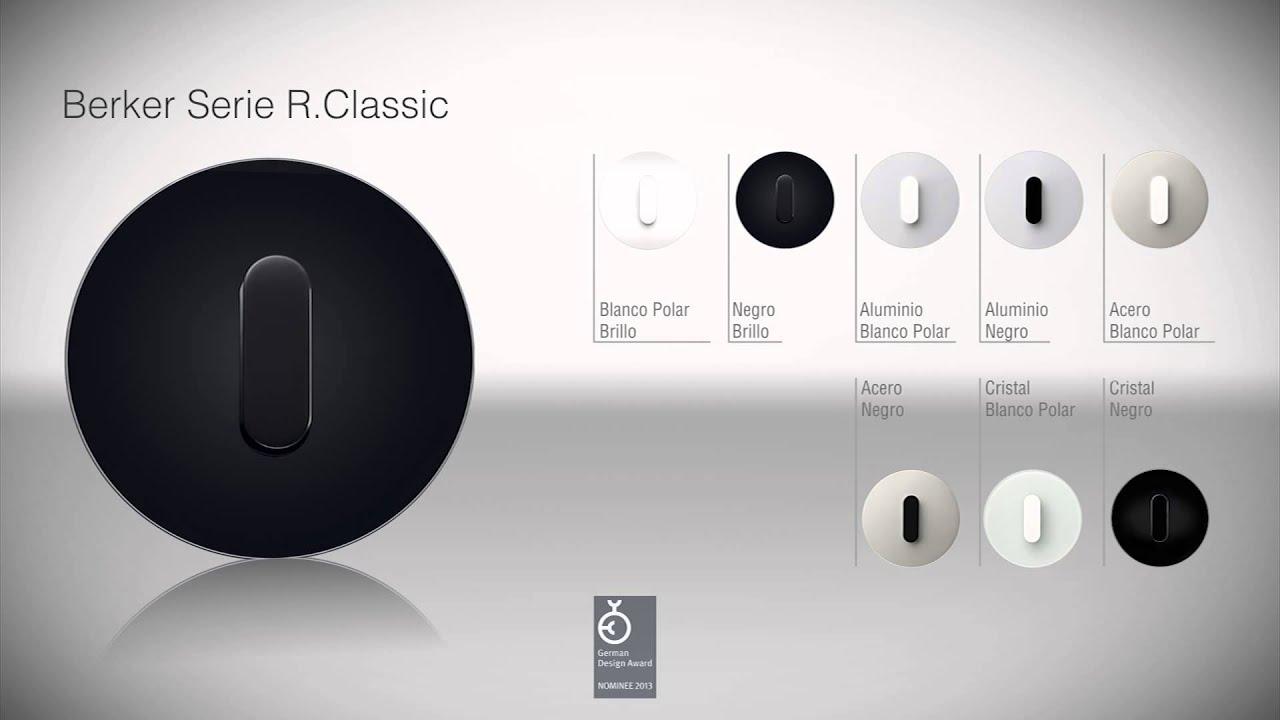 berker serie rclassic youtube. Black Bedroom Furniture Sets. Home Design Ideas