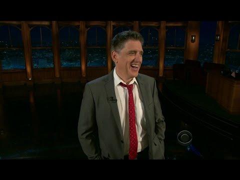 Late Late Show with Craig Ferguson 4/13/2012 Sean Hayes, Lena Dunham