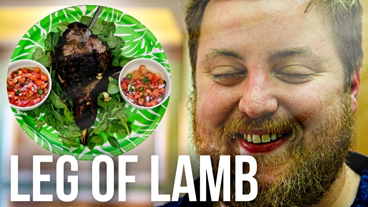how to cook a leg of lamb youtube