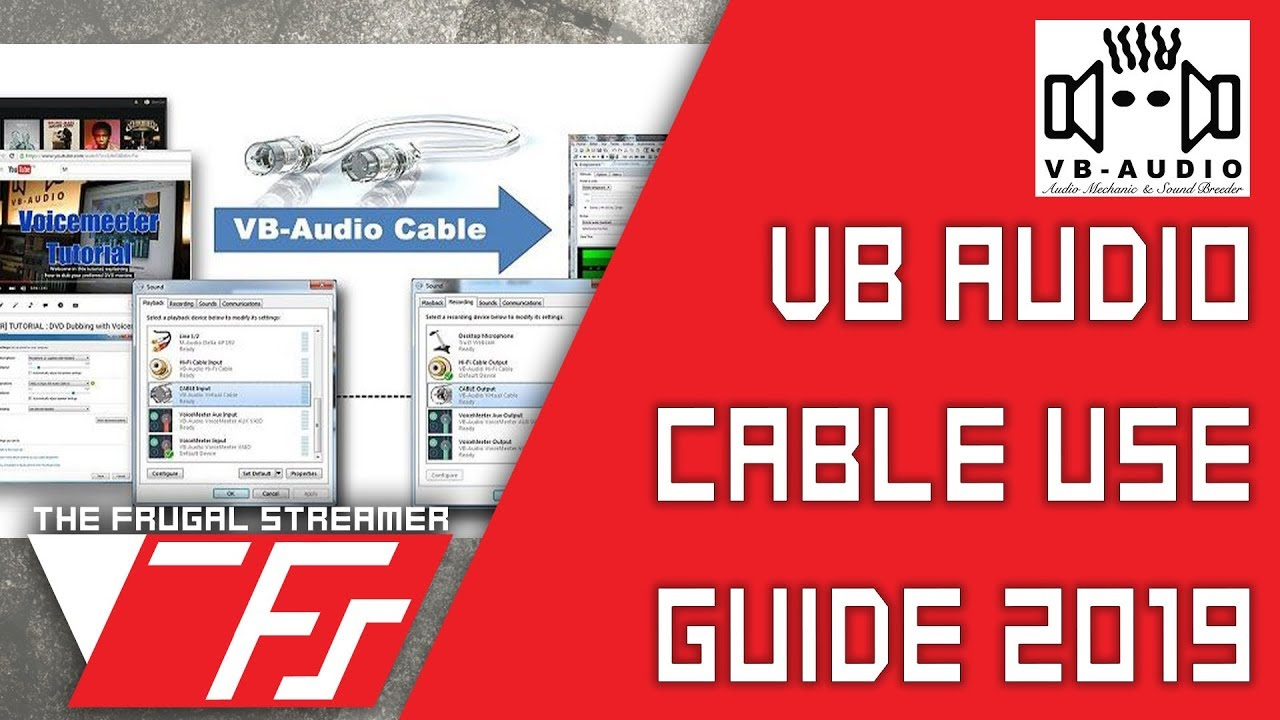 VB Audio Virtual Audio Cable Tutorial: VAC Installation and Use Guide 2019  for Windows 10