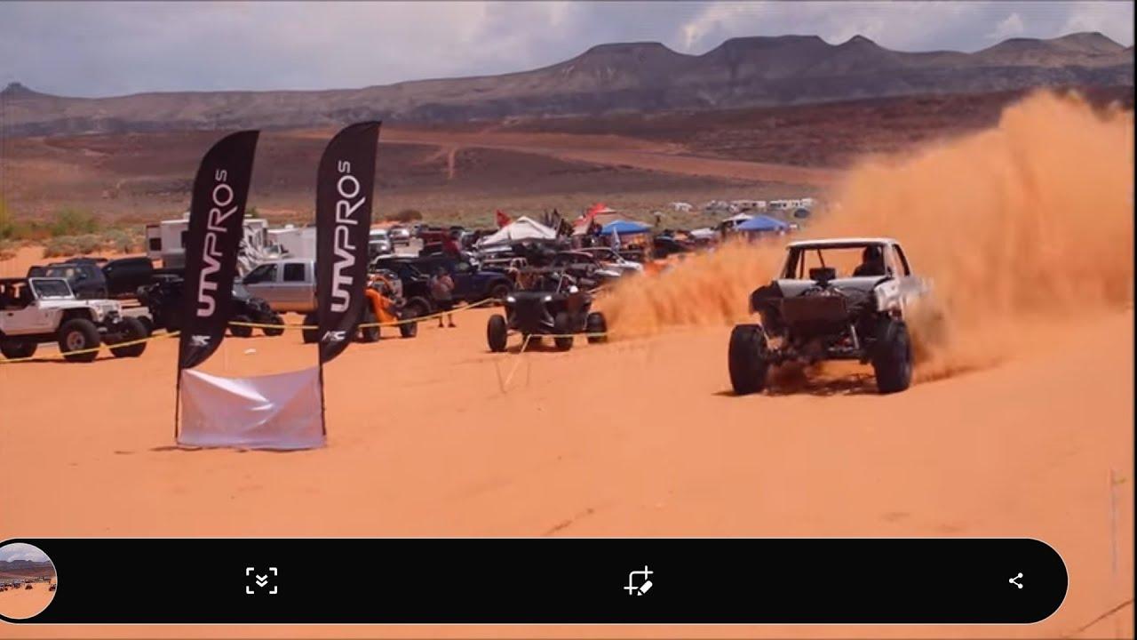 Sand Dune Drag Races