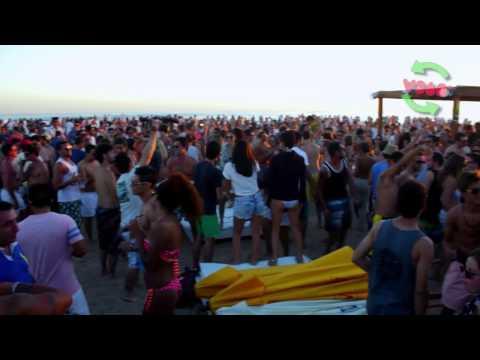 Sol y música electónica en Bikini