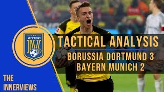 Borussia Dortmund vs Bayern Munich 3-2 l Tactical Analysis l How Dortmund's Counter Crushed Bayern