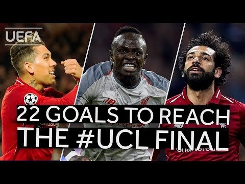 FIRMINO, MAN, SALAH: All LIVERPOOL goals to reach the #UCL final!