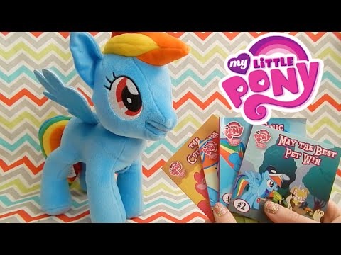 Rainbow Dash Storyteller Reads Four Books My Little Pony