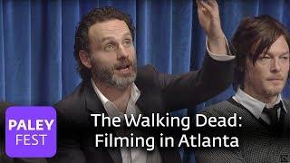 The Walking Dead - Andrew Lincoln Loves Filming In Atlanta