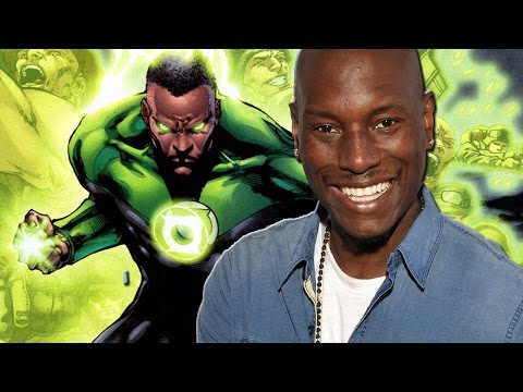 Tyrese Teases Possible Green Lantern Casting