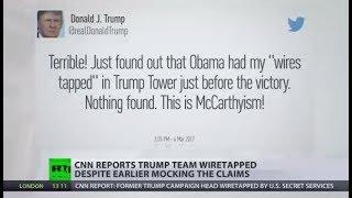 Trump Team Tapped: CNN admits FBI wiretapped aide Manafort