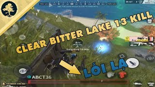 """[Rules Of Survival] ✔️ Solo Bitter Lake 13 KILL - ABCT36 Gặp """"LỖI LẠ"""""""