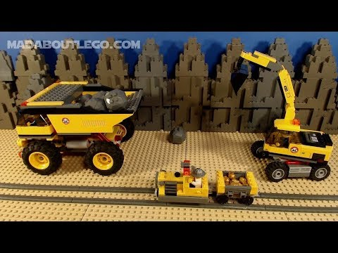 LEGO City Mining Movie