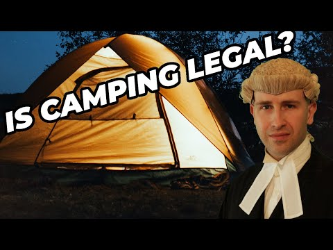 IS IT LEGAL TO CAMP IN UK ENGLAND & WALES? | Right to Roam Laws | Countryside and Rights of Way Act