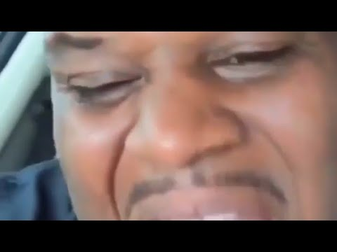 Original Video of Black man laughing in car