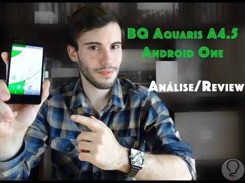 BQ Aquaris A4.5 - Review / Análise em Português - Android One