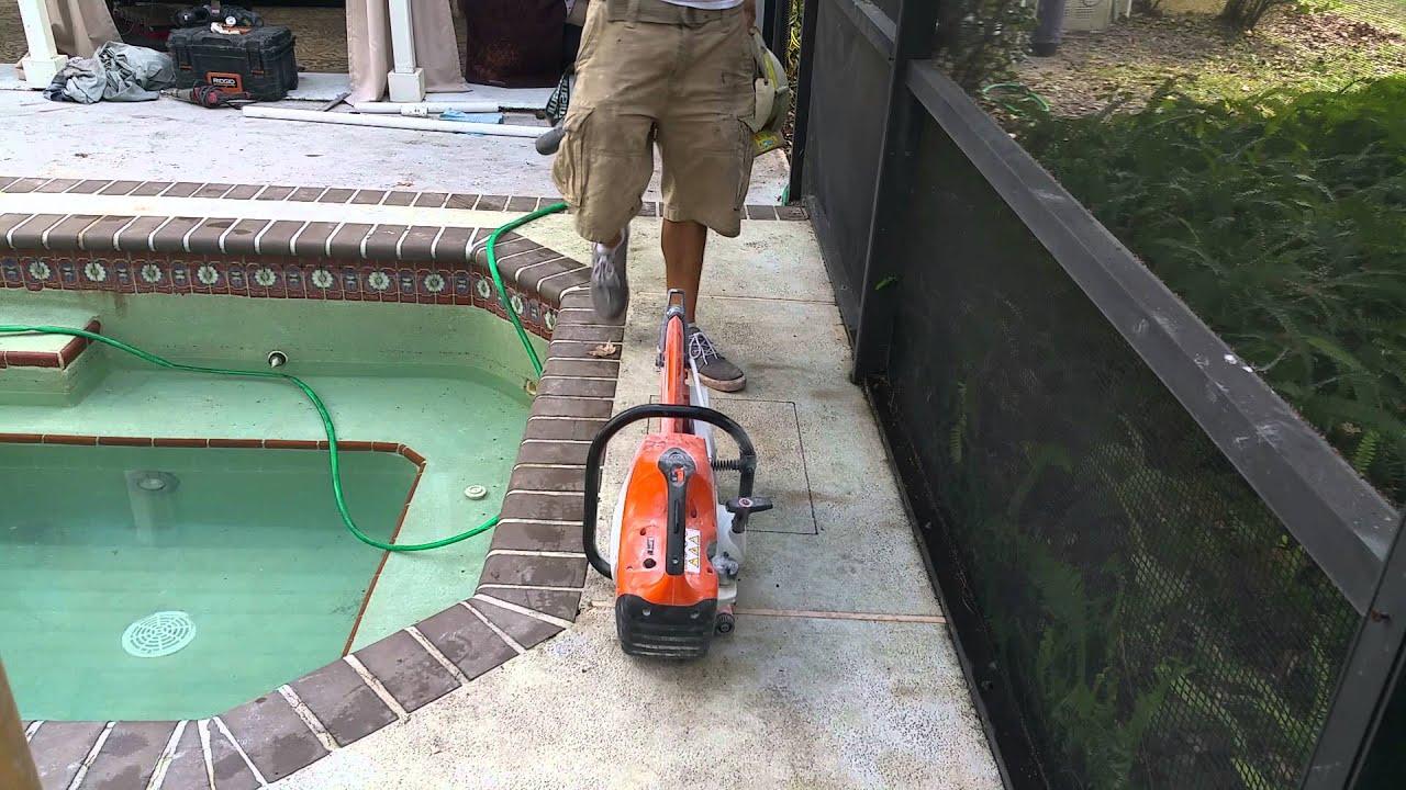 how to fix plastic pipe leak near pool pump