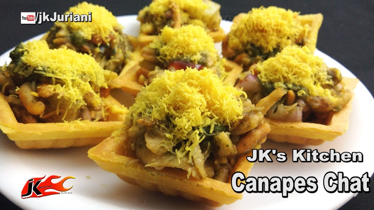 Canapes Recipe - Indian Chat | JKu0027s Kitchen 066 & Canapes Recipe - Indian Chat | JKu0027s Kitchen 066 - YouTube