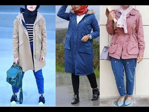 Hijab fashion style winter 2018 - hijab lookbook 7