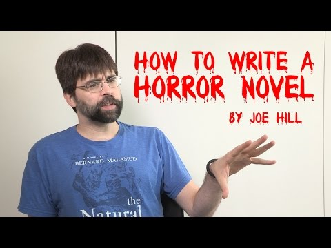 Joe Hill Tells You How To Write A Horror Novel