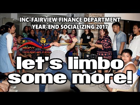 Limbo Rock (Men's Edition) - INC Fairview Finance Department Yearend Socializing 2017
