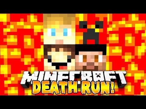 Minecraft - THE DEATH RUN MASTER! w/Preston, Vikkstar, Woofless & Lachlan
