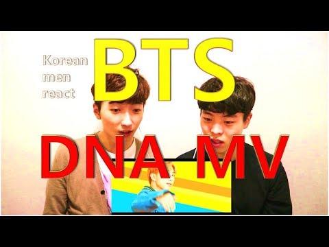 Korean men react [BTS (방탄소년단) - 'DNA' MV]