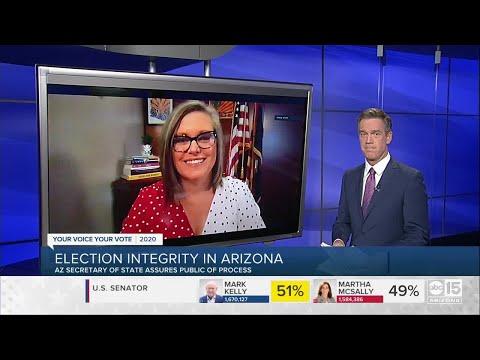 Arizona Secretary of State Katie Hobbs: Election integrity in Arizona