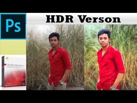 New Photoshop Tutorial l Art tutorial Photoshop cc l HDR Verson l Tushar Solution Tips thumbnail