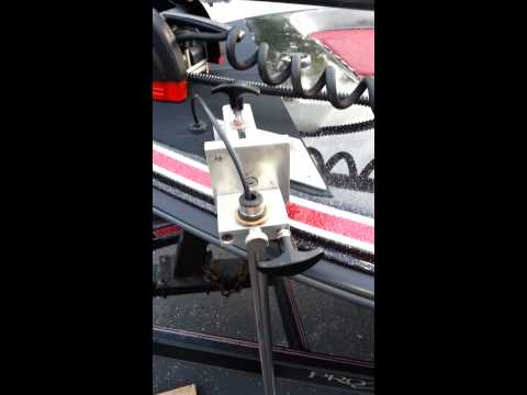 Bow mounted transducer ..see me at gofundme.com .. Chris Neal, Franklin,OH