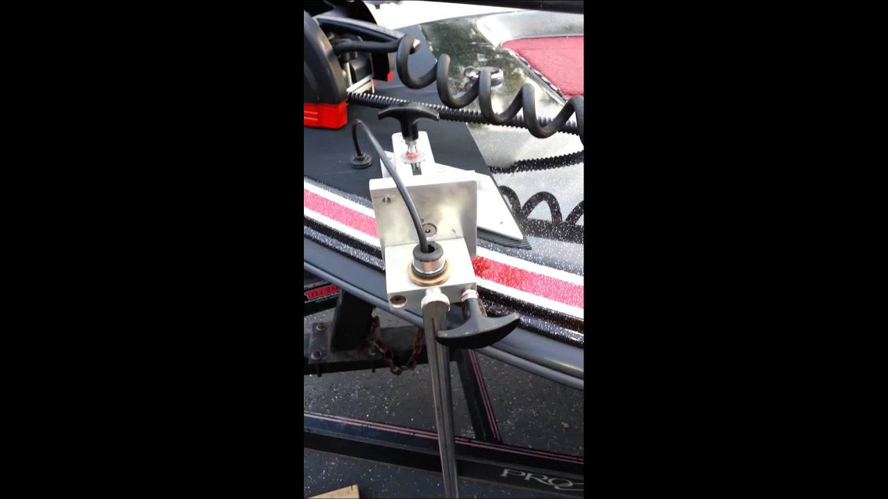 Bow Mounted Transducer See Me At Gofundme Com Chris