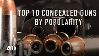 Best Handguns for Concealed Carry 2015