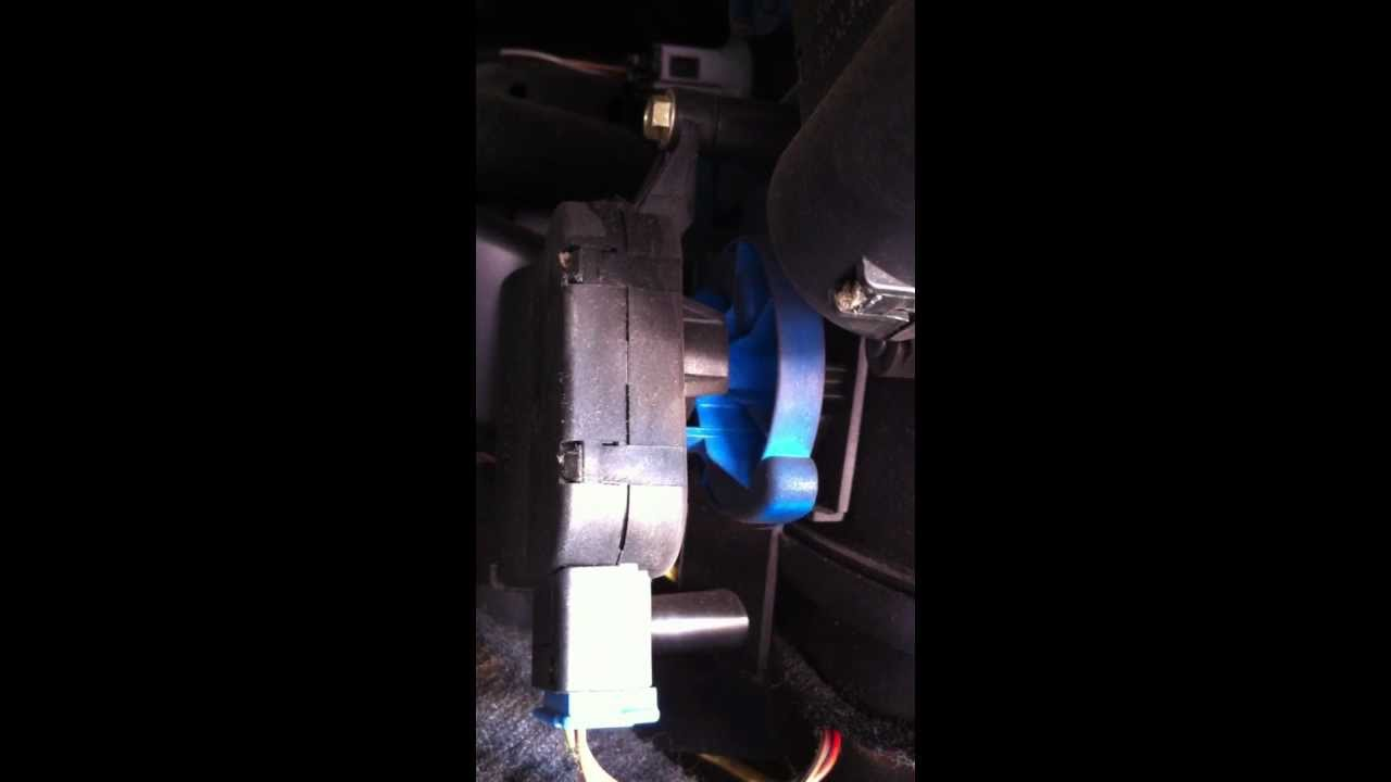 01274 Air Flow Positioning Motor V71 Fault Youtube