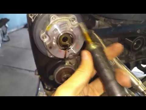 Remove subaru cam bolt No impact gun No drilling M